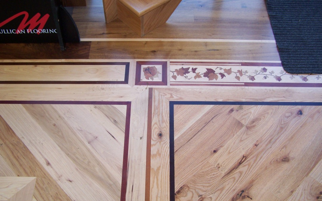 Hardwood Showroom Floor